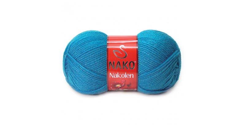 Любителям полушерсти - Nakolen от Nako. Предлагаем выбор из 45 цветов! У нас есть, из чего выбрать!